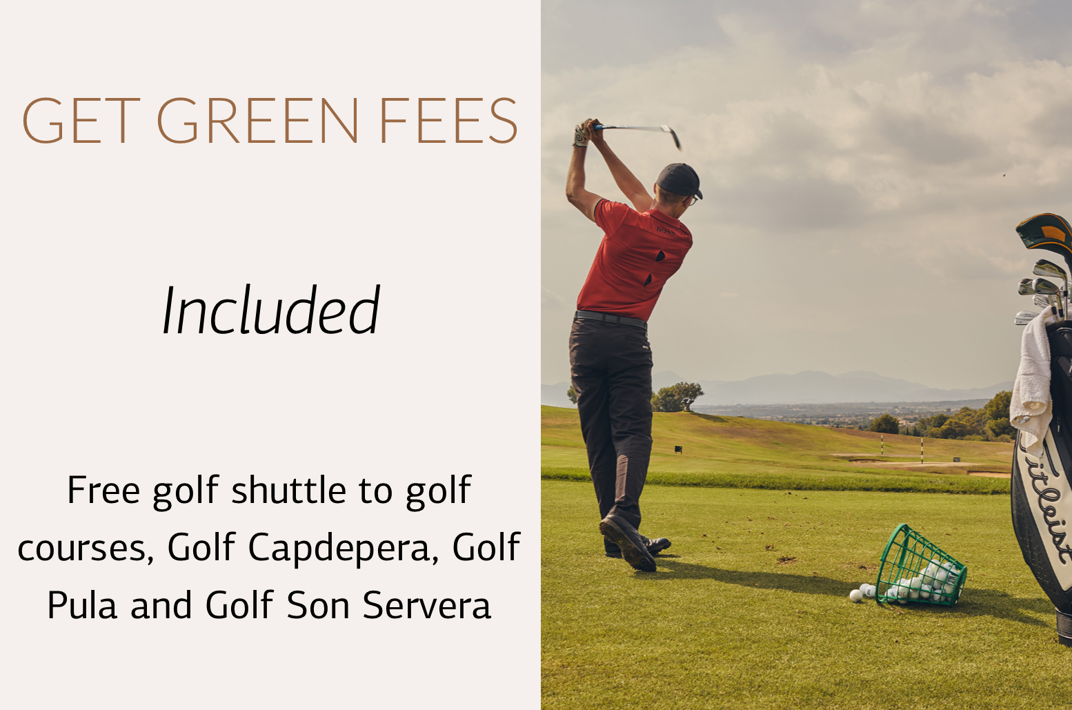 Green Fee Included